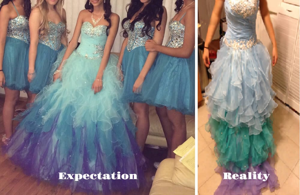Mermaid Prom Dress @ KnockOffNightmares / Facebook.com