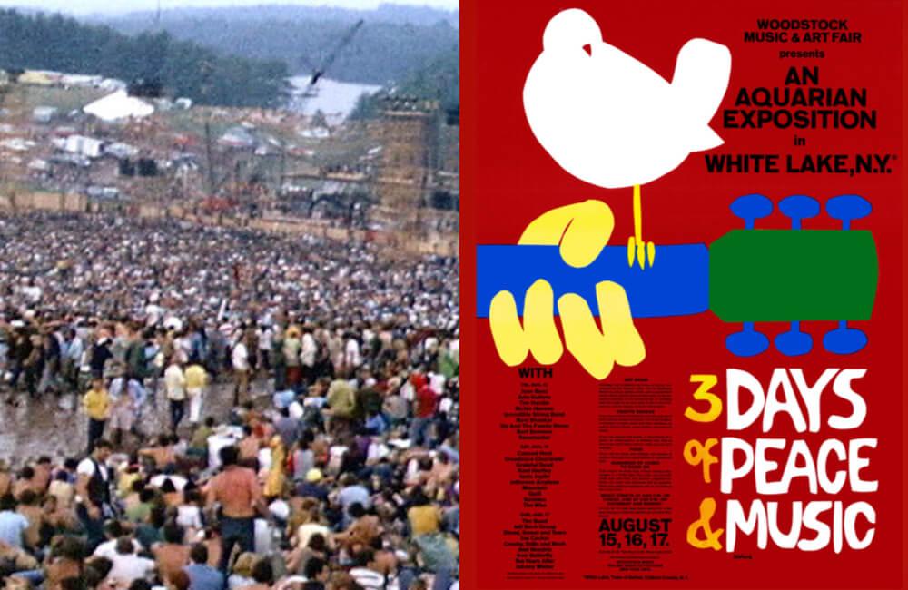Woodstock Festival, 1969 ©Wikimedia Commons