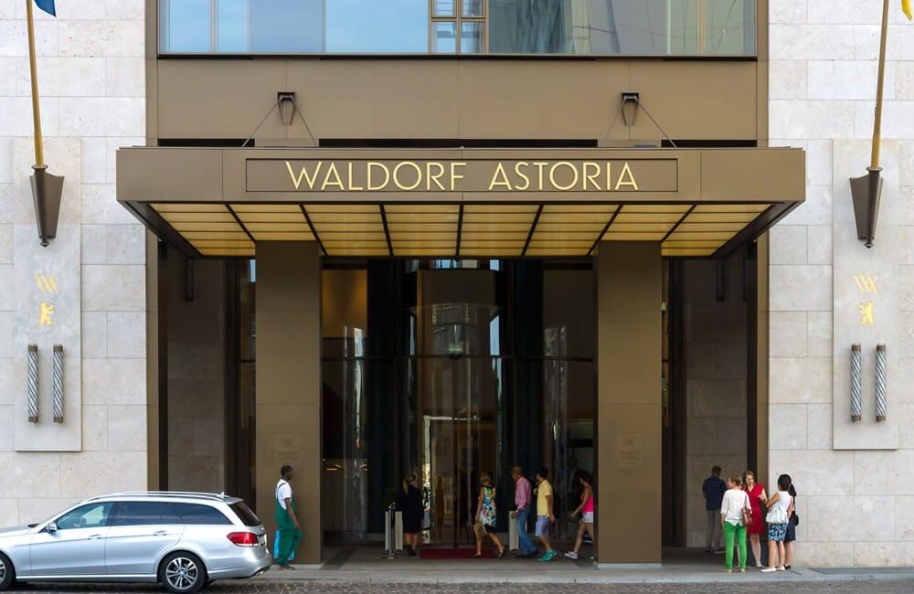 The Waldorf-Astoria Hotel ©Sergey Kohl / Shutterstock.com