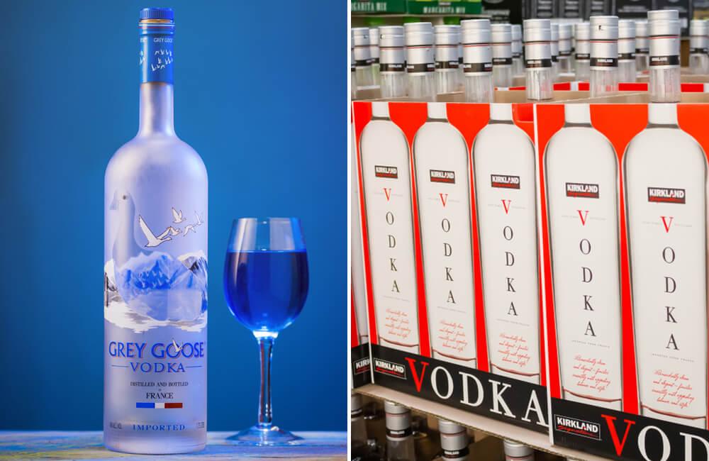 Grey Goose Vodka ©Jayakumar / Shutterstock.com | ©David Tonelson / Shutterstock.com