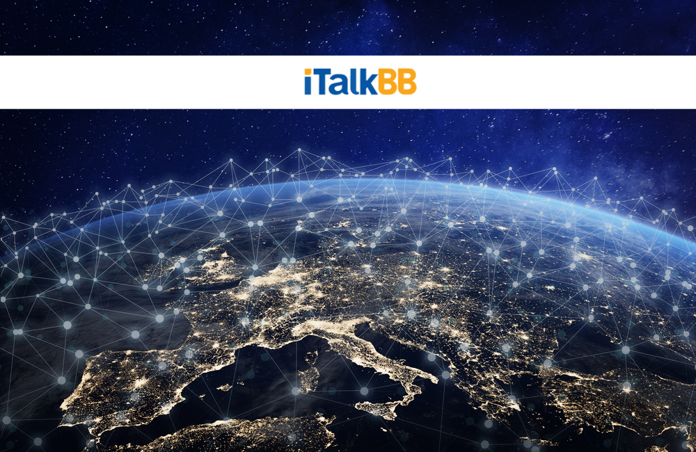 iTalk Global Communications Inc @iTalkBB_Media / Twitter.com | @NicoElNino / Shutterstock.com