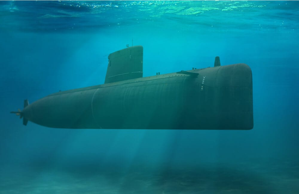 Naval submarine ©noraismail/Shutterstock.com