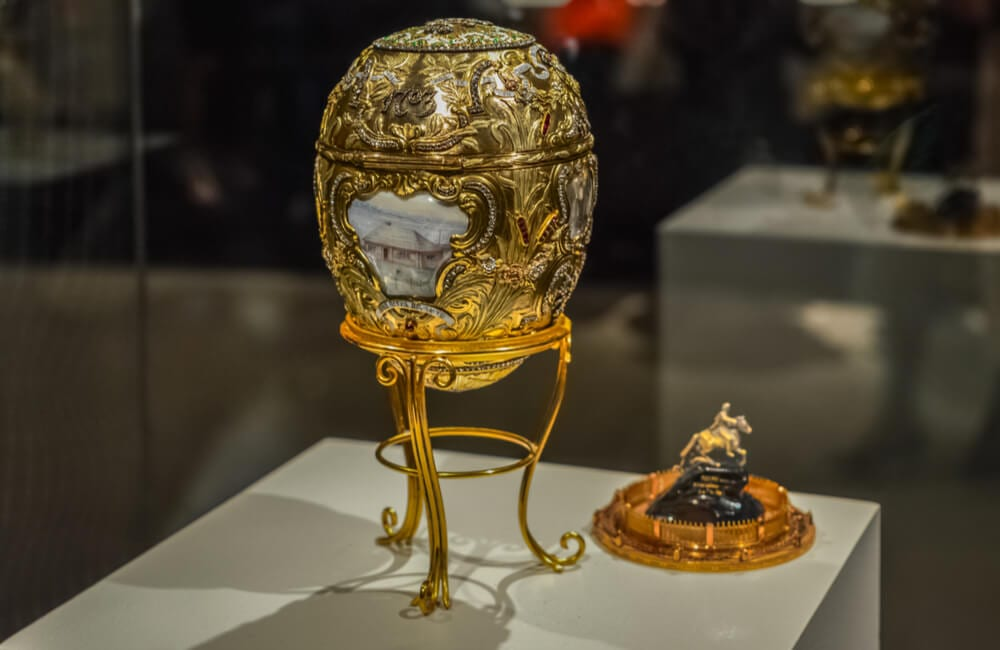 A Massive Faberge Egg Collection