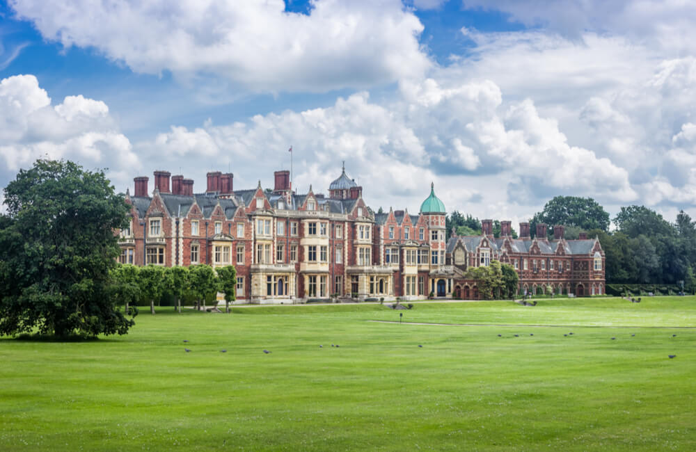 20,000-acre Sandringham Estate in Norfolk