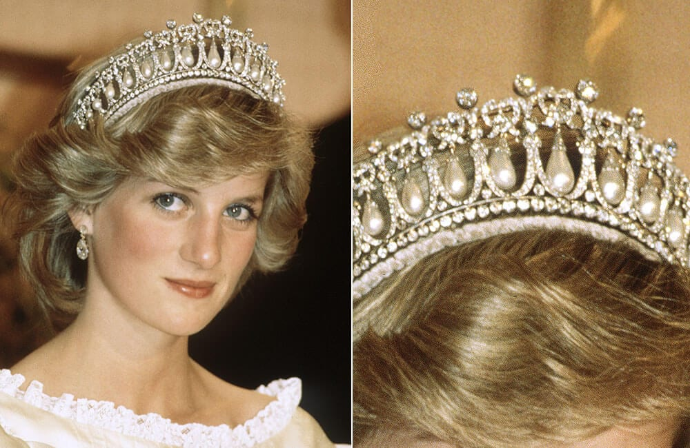 Queen Mary's Lover's Knot Tiara Princess Diana ©Anwar Hussein / Gettyimages.com