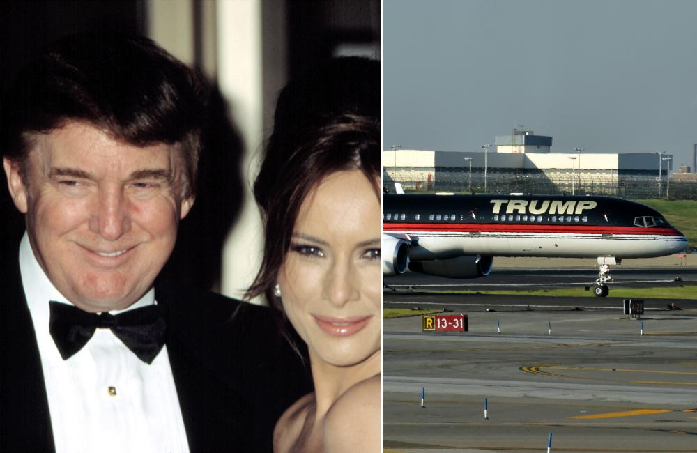 Donald Trump © Everett Collection / Trump Airlines © Ivan Cholakov   Shutterstock.com