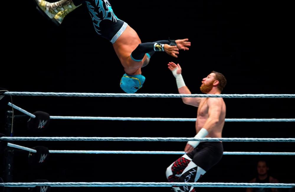 WWE Wrestling @Christian Bertrand / Shutterstock.com