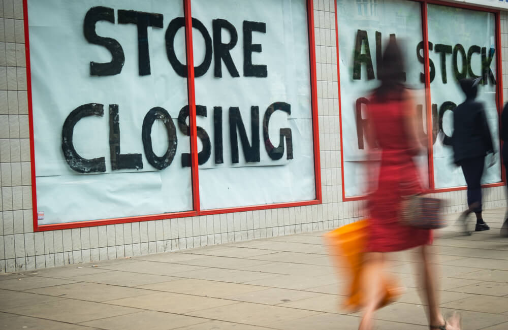Store Closing ©Willy Barton/Shutterstock