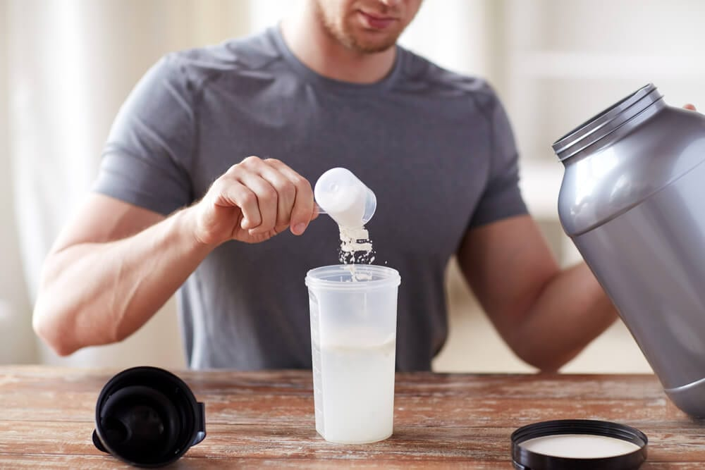 Protein Powder @Syda Productions/Shutterstock