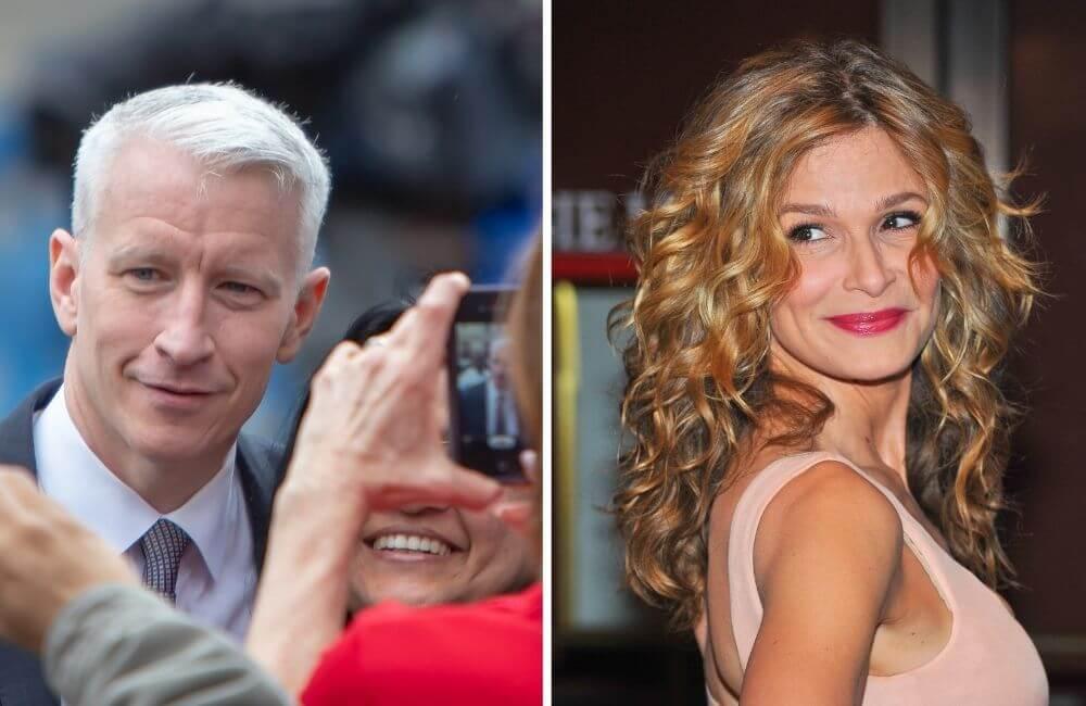 Anderson Cooper ©Jim Madigan   Kyra Sedgewick ©Everett Collection/Shutterstock.com