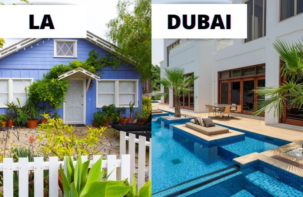 LA ©Nikolas_jkd/Shutterstock | Dubai ©Fariz Abasov/Shutterstock