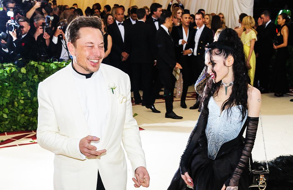 Elon and Grimes @Sky Cinema / Shutterstock.com