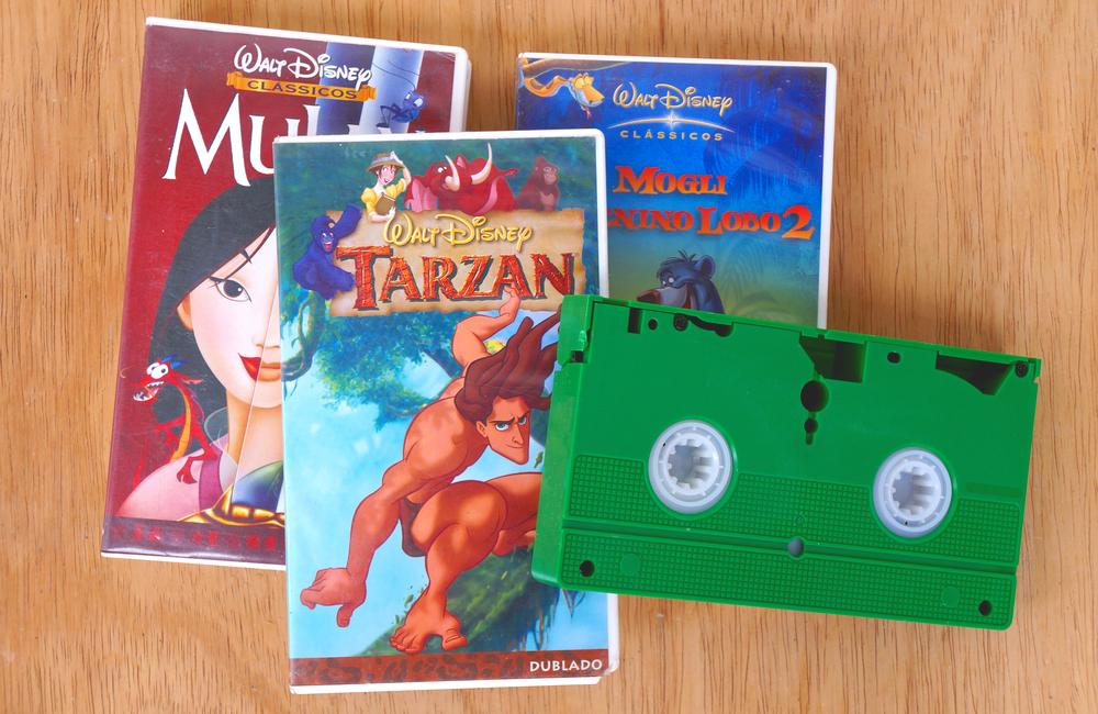 Disney VHS @Brenda Rocha - Blossom / Shutterstock.com